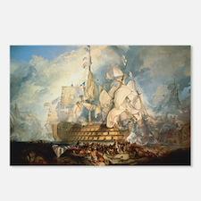 Battle of Trafalgar Postcards (Package of 8)