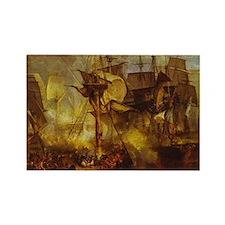 Battle of Trafalgar 1808 Rectangle Magnet