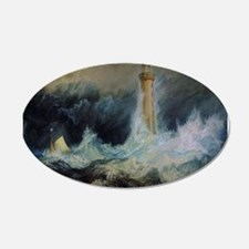 Bell Rock Lighthouse 22x14 Oval Wall Peel