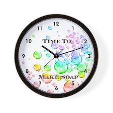 Soap Maker Wall Clock
