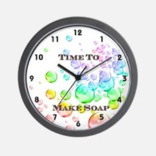 Soap Maker Wall Clock