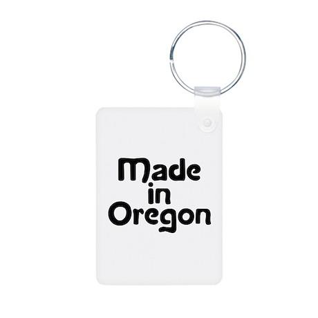 Made in Oregon Aluminum Photo Keychain