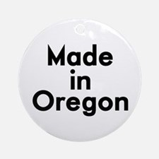 Made in Oregon Ornament (Round)