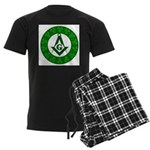 For the Irish Freemason Men's Dark Pajamas