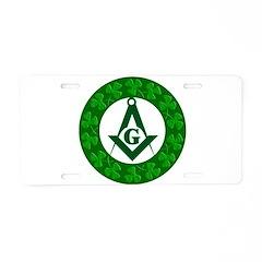 For the Irish Mason/OES Membe Aluminum License Pla