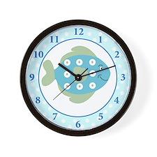 Fishy Ocean Theme Wall Clock