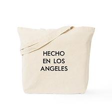 Hecho En Los Angeles Tote Bag