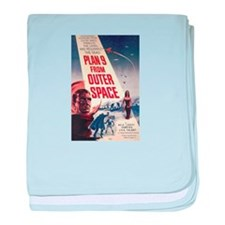 Plan 9 From Outer Space baby blanket