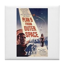 Plan 9 From Outer Space Tile Coaster