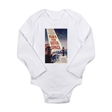 Plan 9 From Outer Space Long Sleeve Infant Bodysui