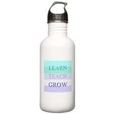 Learn Teach Grow Stainless Water Bottle 1.0L