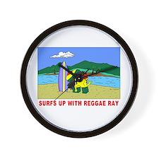 Reggae Ray Wall Clock