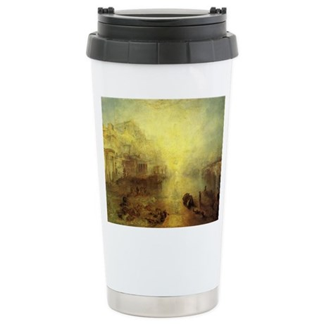 Ovid Banished from Rome Stainless Steel Travel Mug