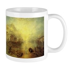 Ovid Banished from Rome Small Mug