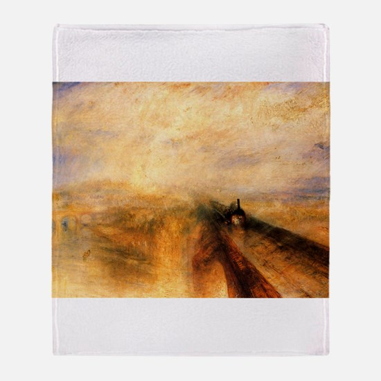 Rain, Steam, and Speed Throw Blanket