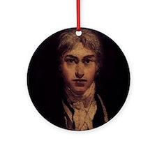Self Portrait Ornament (Round)