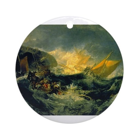 Shipwreck of the Minotaur Ornament (Round)