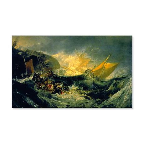 Shipwreck of the Minotaur 22x14 Wall Peel