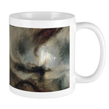 Snow Storm Steam Boat Small Mug