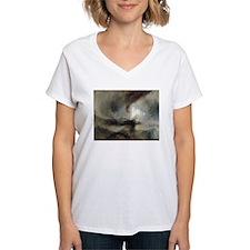 Snow Storm Steam Boat Shirt
