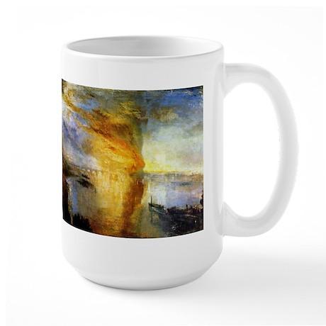 The Burning of the Houses of Large Mug