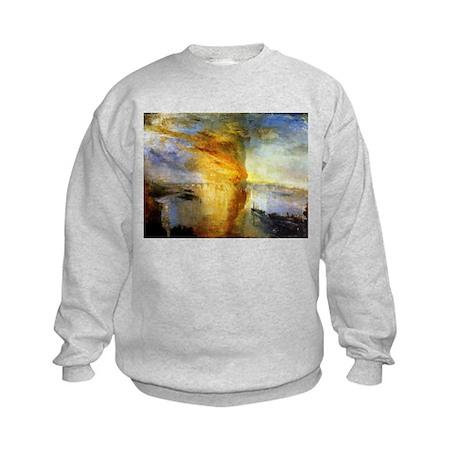 The Burning of the Houses of Kids Sweatshirt