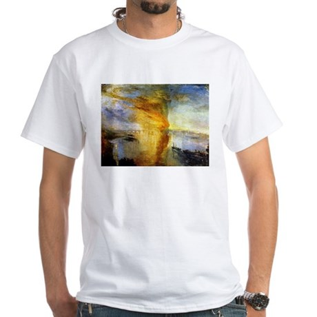 The Burning of the Houses of White T-Shirt