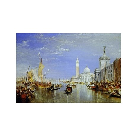 Venice Rectangle Magnet (10 pack)
