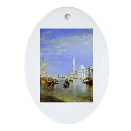 Venice Ornament (Oval)