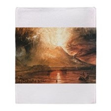 Vesuvius Erupting Throw Blanket