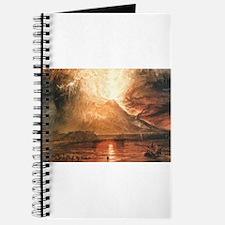 Vesuvius Erupting Journal