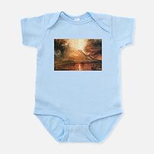 Vesuvius Erupting Infant Bodysuit