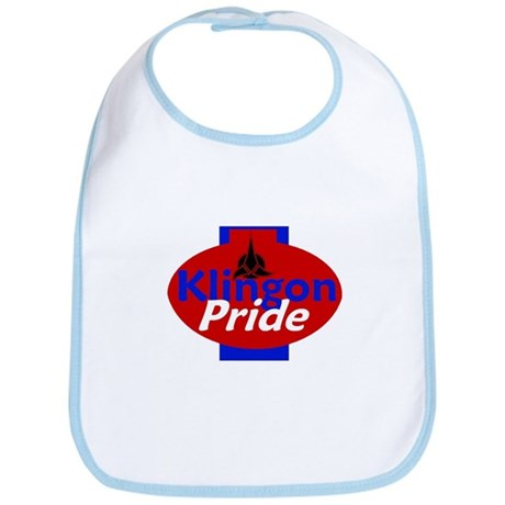 Klingon Pride Bib