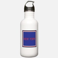 New York Blue Water Bottle