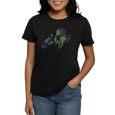 Make A Wish - Women's Dark T-Shirt