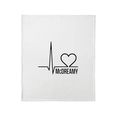 McDreamy Grey's Anatomy Throw Blanket