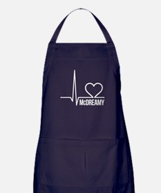 McDreamy Grey's Anatomy Apron (dark)