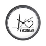 McDreamy Grey's Anatomy Wall Clock