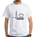 McDreamy Grey's Anatomy White T-Shirt
