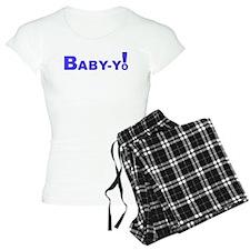 Baby-Yo! Blue Pajamas