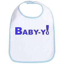 Baby-Yo! Blue Bib