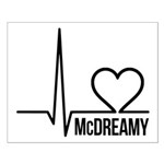 McDreamy Grey's Anatomy Small Poster