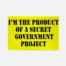 Product of Government Rectangle Magnet