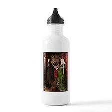 Portrait of Giovanni Arnolfin Water Bottle