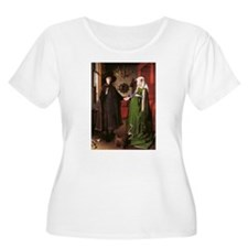 Portrait of Giovanni Arnolfin T-Shirt