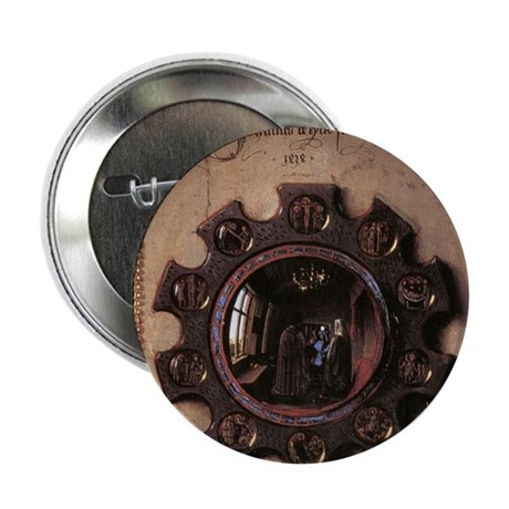 "Giovanni Arnolfini and Wife ( 2.25"" Button (10 pac"