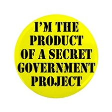 "Product of Government 3.5"" Button (100 pack)"