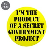 "Product of Government 3.5"" Button (10 pack)"