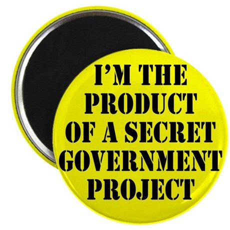 "Product of Government 2.25"" Magnet (100 pack)"