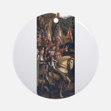 Knights of Christ Ornament (Round)